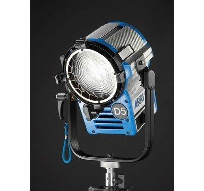 Arri D5, 575W HMI Fresnel System w/Barndoors