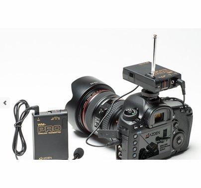 Azden WLX-PRO+i Wireless Mic System|DSLR|Smartphones