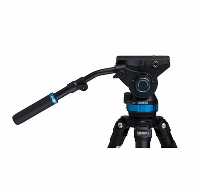 Benro S8 Video Fluid Tripod Head - Flat Base