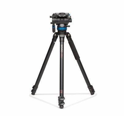 Benro S8 Video Tripod Kit w/ Aluminum Legs