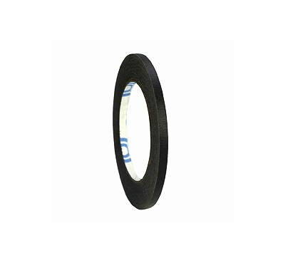 "Black Paper Tape 1/4"" x 60 yards ShurTape 724"