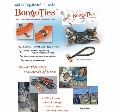 Bongo Ties Package of 10 Cable Ties