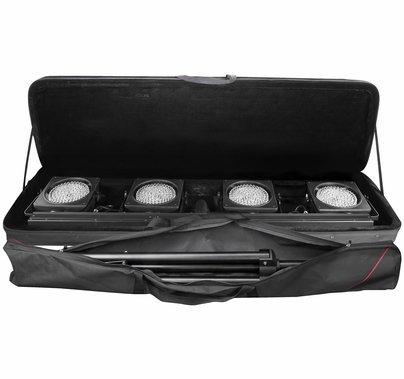 Chauvet DJ 4BAR USB LED Wireless Wash Light Kit w/ Case
