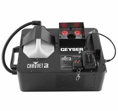 Chauvet Geyser P4 Pyrotechnic Effect Fog and LED Light in One