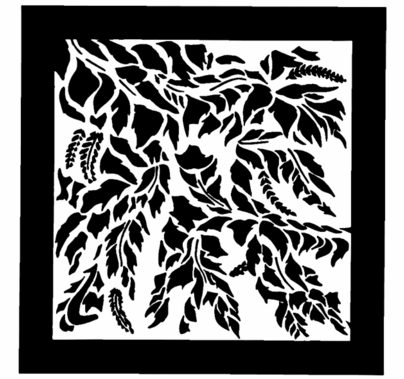 "Chimera Leaf Breakup Micro Window Pattern 16""x16"" 5355"