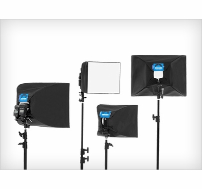 Chimera Mini Softbox for On Camera Strobe Silver Interior 12x16