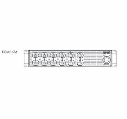 ETC SmartPack Dimmer  (12)  Channel 10A Edison Connectors