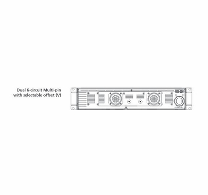 ETC SmartPack Dimmer  (12) Channel 10A to (2) Multi-Pin