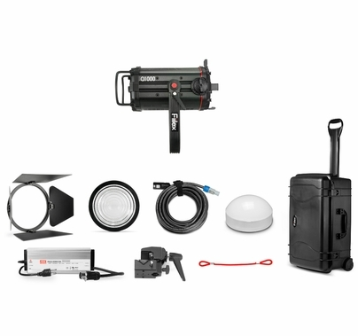 Fiilex K154 Q1000-DC LED Travel Light Kit