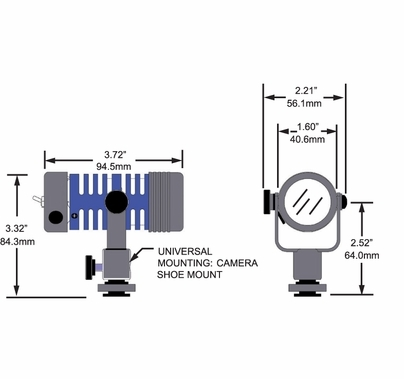 "Frezzi Micro Fill Standard 35W Tungsten Sun Gun Light AntonBauer MRF-PT  91306 <b><font color=""red"">DISCONTINUED</b></font color>"