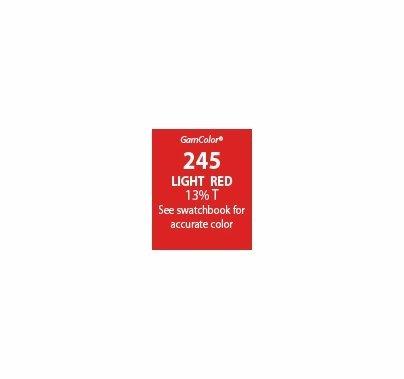 GAM GamColor 245 Light Red Lighting Gel Filter Sheet ...