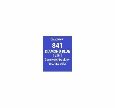 GAM GamColor 841 Diamond Blue Lighting Gel Filter Sheet 20x24 in