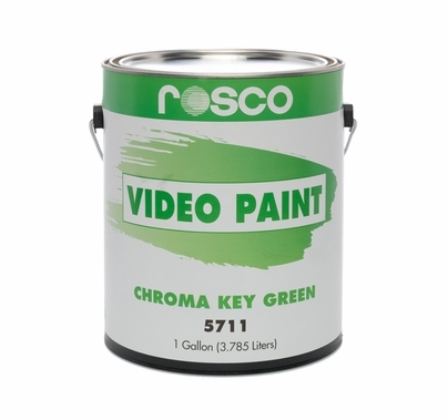 Rosco Green Screen Paint Chroma Key 5711 | Gallon