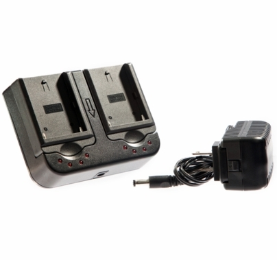 Ikan Dual Sony Battery Charger L Series Compatible