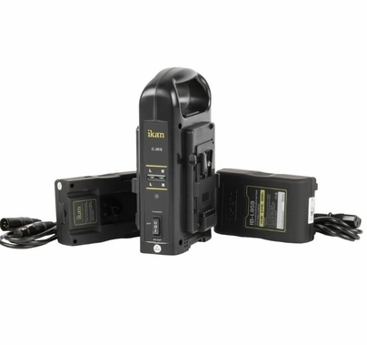 Ikan Dual V-Mount 95wh Batteries and Charger