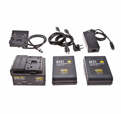 Kino Flo Block Battery Single System 2 Batteries NiMh and Charger 140wh 28.8v