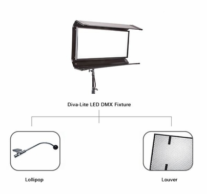 Kino Flo Diva Lite LED w/ Case KIT-DL20XU