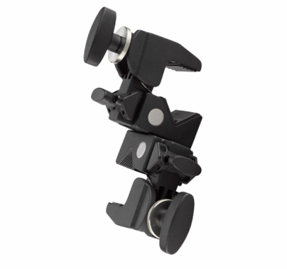 Kupo Grip Double Convi Clamp, Black, KG702311