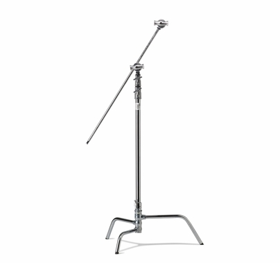 "40"" Master C-Stand Kit Turtle Base - Silver"