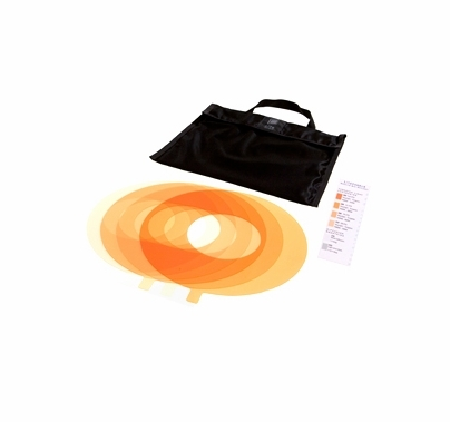 LED Ringlite Mini (5) Piece CTO Gel Set with Bag