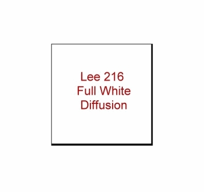 LEE Filters  216 Full White Diffusion Roll 4' x 25 '
