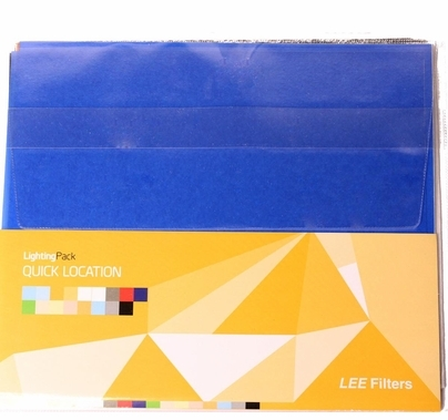 "Lee Lighting Gel Filter Pack Quick Location 24 Sheets 12""x10"" LS9051"