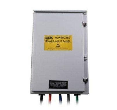 Lex 400A 3 Phase Power Input Panel Exterior Generator Hook Up 120/208
