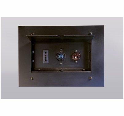 Lex Power Plus Wall Pocket w/ (1) 20A Edison 5-20 Receptacle