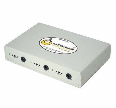 LiteGear LitePower Triple Battery Charger 12V