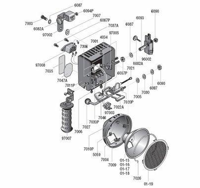Lowel Omni Lamp Socket w/Shields, 97003