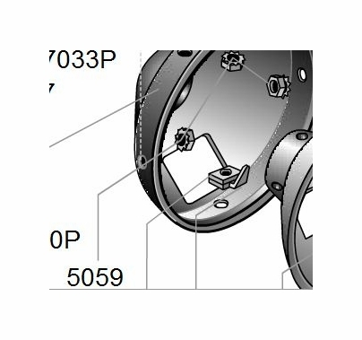 Lowel Omni Light Nut, Part 5059