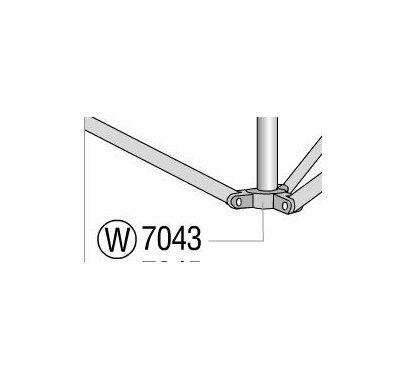 Lowel Omni Light Stand Lower Leg Casting, Part 7043