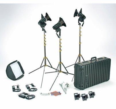 Lowel Pro Power LED 3 Light Kit - Daylight