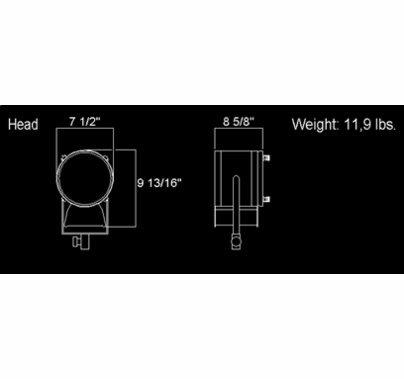 LTM 575 HMI Fresnel Light  HH-2115G