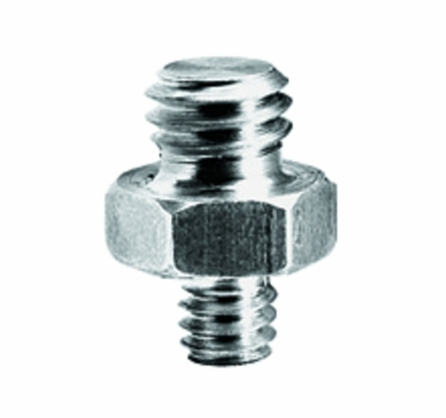 "Manfrotto 147 Adapter Spigot Threaded Stud 1/4"" to 3/8"""