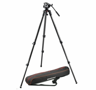 Manfrotto MVH500A, 535 Video Tripod Kit