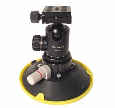 """Matthews Ball Head Assembly with 6"""" Suction Cup, 427015"""