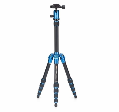MeFoto BackPacker Camera Travel Tripod Kit Blue