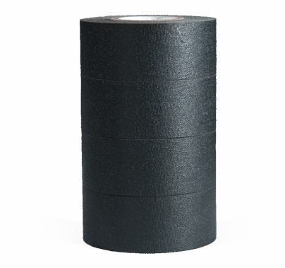 MicroGaffer (4) Black Micro Gaffer Tape Rolls 1 in x 8 yards