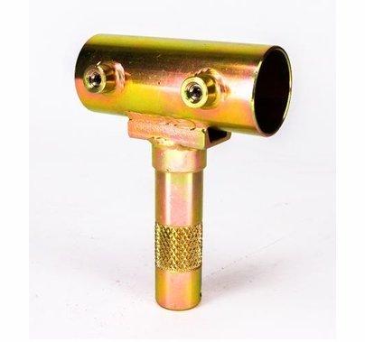 Modern Studio 1 1/4 inchPipe Slider to Junior Male Pin