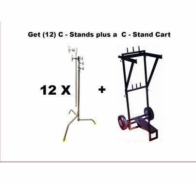 Modern Studio 12 C - Stand Pack w/ Cart