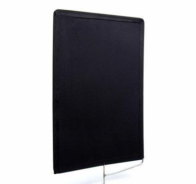 Modern Studio 24x36 inch Solid Black Flag Cutter