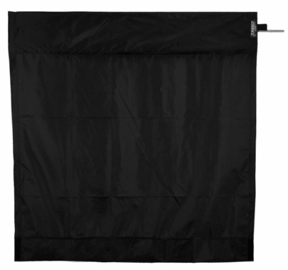 Modern Studio 4ft Wag Flag Frame w/ Black Rip Stop Fabric