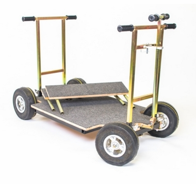Modern Studio Doorway Dolly with 2 Wheel Steering
