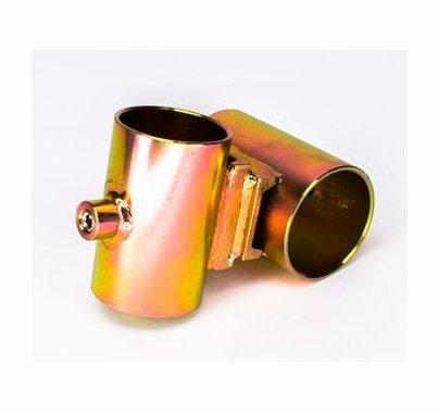"""Modern Studio Pipe Cross Bracket for 1 1/4"""" Pipe  012-2206"""