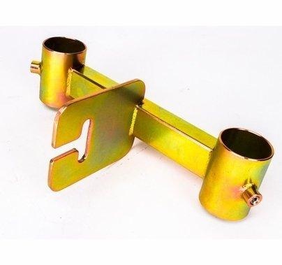 """Modern Studio Pipe Truss w/ Ear Adapter Bracket for 1 1/2"""" Pipe"""