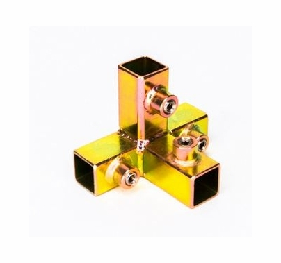 """Modern Studio Tee for 3/4"""" Square Tube with Brace  010-2003"""