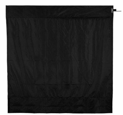 Modern Studio 8ft Wag Flag Frame w/ Black Rip Stop Fabric