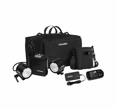 Profoto B2 Location Kit 2 Lights With Ttl Barndoor Lighting