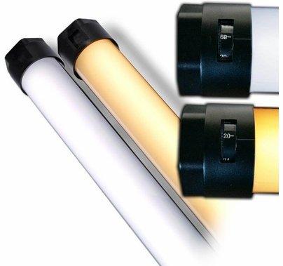 Quasar Tubes Q-LED X CrossFade Linear Lamp 1ft Bulb T12 120VAC
